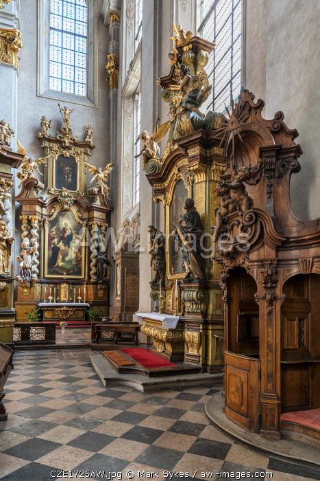 Europe, Czech Republic, Prague, St Giles Church