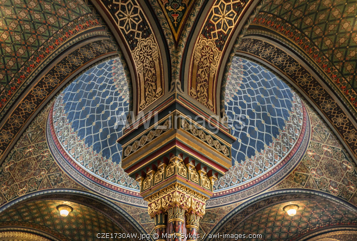 Europe, Czech Republic, Prague, Spanish Synagogue