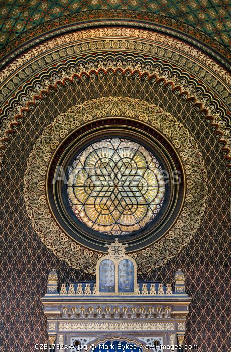 Europe, Czech Republic, Prague, Spanish Synagogue