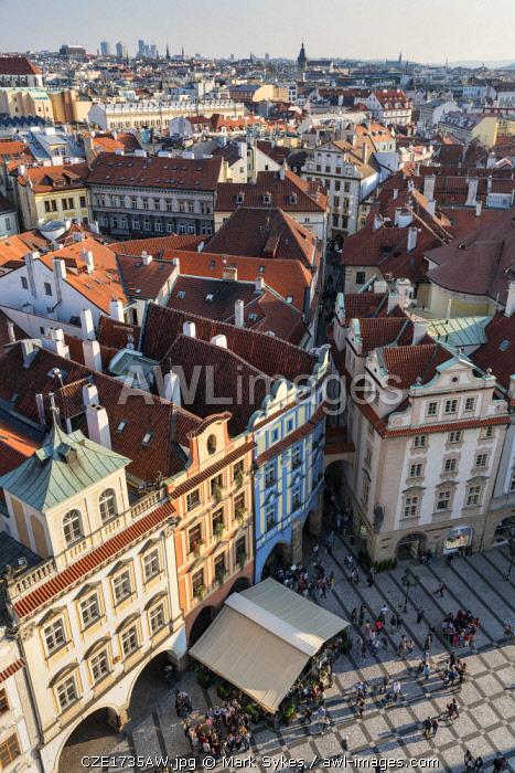 Europe, Czech Republic, Prague, Old Town Square, Prague Clock Tower