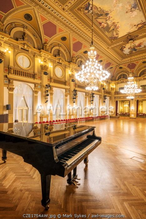 Europe, Czech Republic, Prague, National House of Vinohrady, Mayakovsky Hall