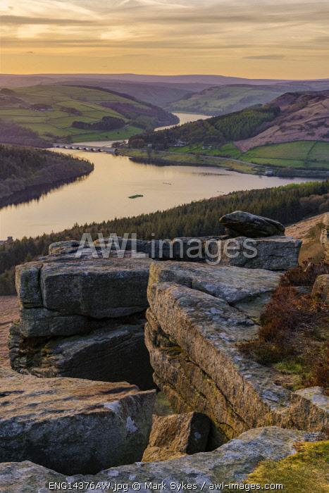 Europe,United Kingdom, England, Derbyshire, Bamford, Bamford Edge