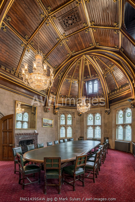 Europe,United Kingdom, England, London, Guild Hall, Chief Commoners Parlour