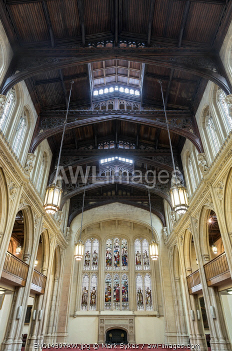 Europe,United Kingdom, England, London, Guild Hall, Old Library