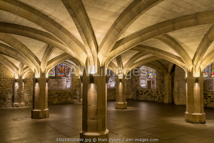 Europe,United Kingdom, England, London, Guild Hall, Crypt