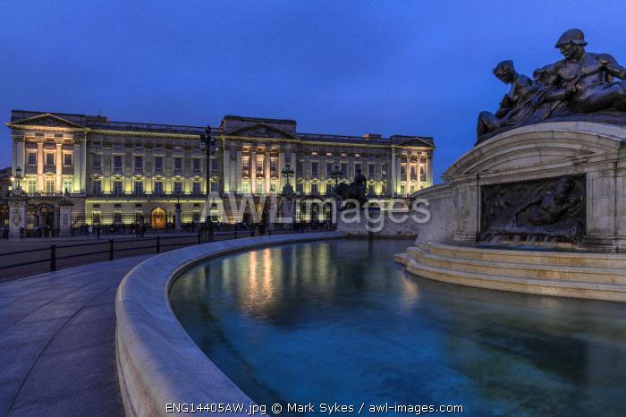 Europe,United Kingdom, England, London, Buckingham Palace