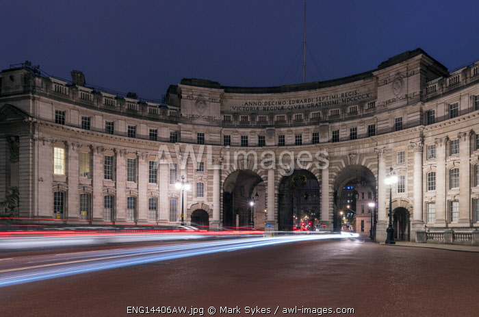 Europe,United Kingdom, England, London, Admiralty Arch