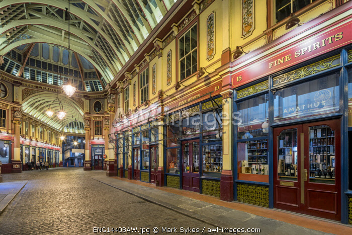 Europe,United Kingdom, England, London, Leadenhall Market
