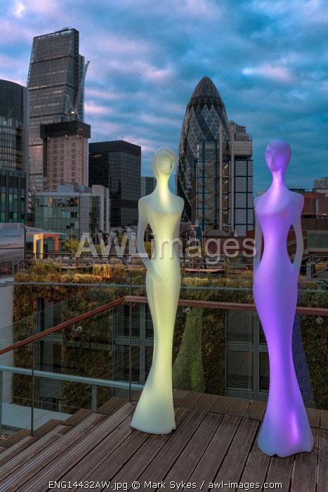 Europe,United Kingdom, England, London, DoubleTree by Hilton Tower, SkyLounge