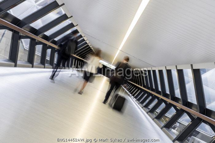 Europe,United Kingdom, England, London, Canary Wharf Crossrail Station