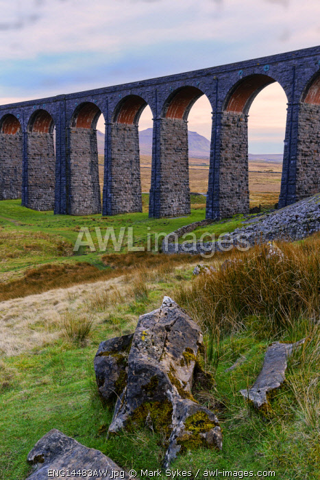 Europe, United Kingdom, England, North Yorkshire, Yorkshire Dales National Park, Ribblehead Viaduct