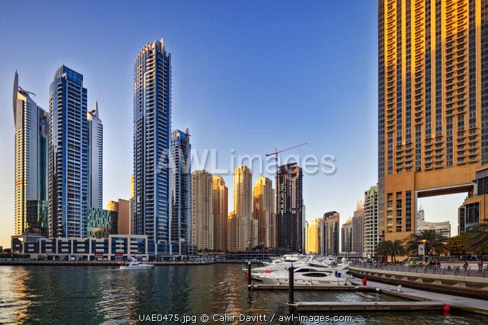 The Bay Central Tower, The Intercontinental Dubai Marina Hotel, The Jumeirah Beach Residences, The Address Dubai Marina and the Dubai Marina Mall, Al Sufouh 1, Dubai, United Arab Emirates.