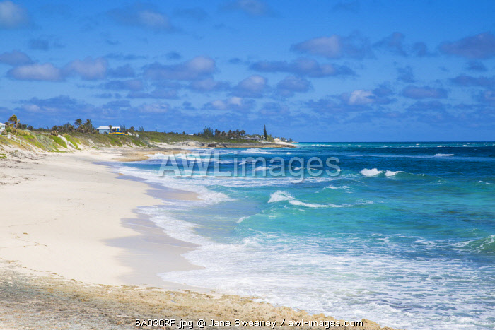 Bahamas, Abaco Islands, Elbow Cay, White Sound beach