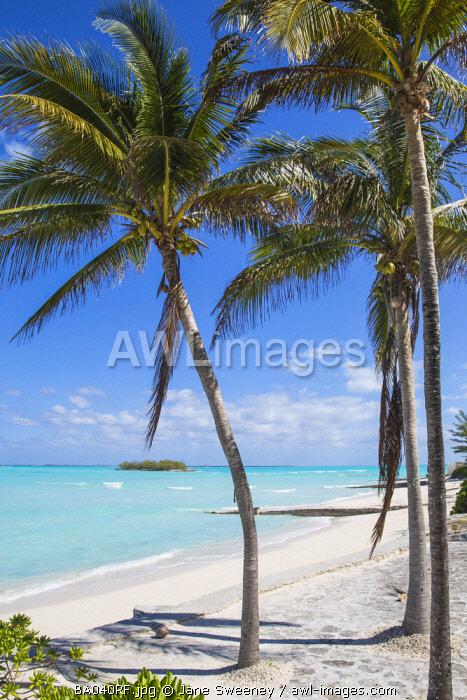 Bahamas, Abaco Islands, Great Abaco, Beach at Treasure Cay