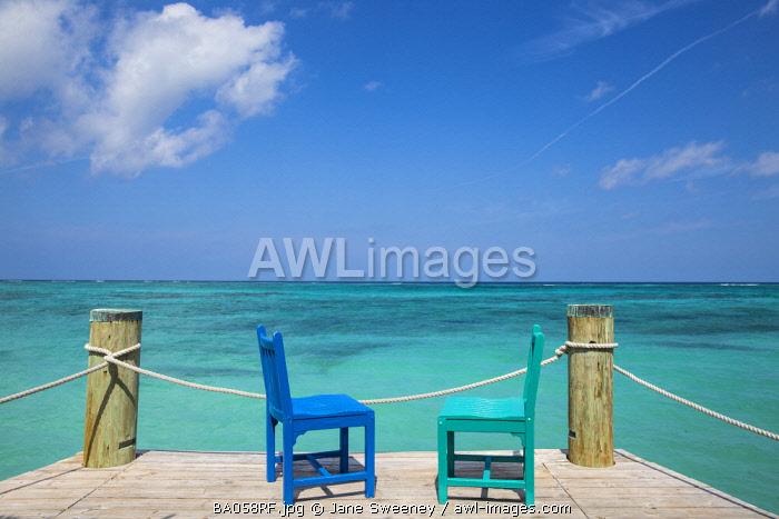 Caribbean, Bahamas, Providence Island, Pier