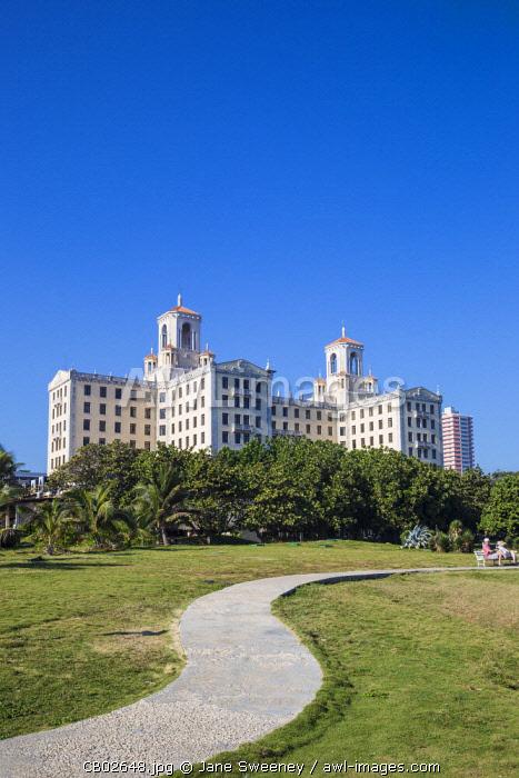 Cuba, Havana, Hotel Nacional de Cuba
