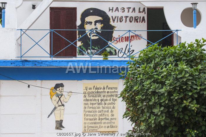 Cuba, Pinar del Río Province, Vinales,  Vinales town
