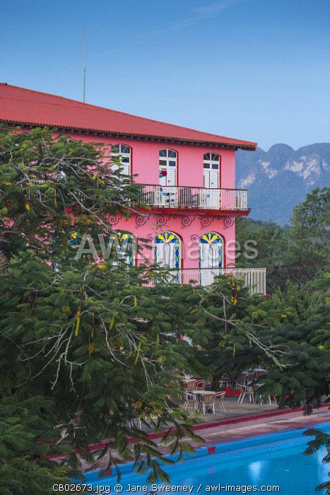 Cuba, Pinar del Río Province, Vinales, Hotel Horizontes Los Jazmines
