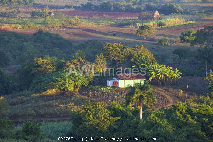 Cuba, Pinar del Río Province, Vinales, View of Vinales valley