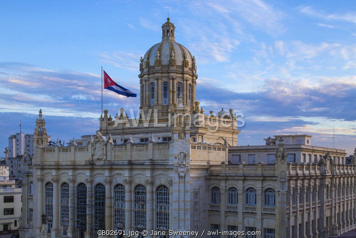 Cuba, Havana, The Museum of the Revolution, resides in the former Presidential Palace,