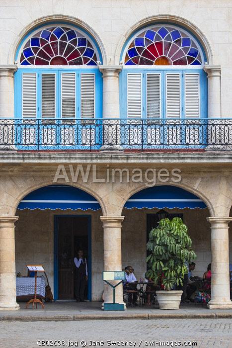 Cuba, Havana, Habana Vieja - Old Town, Restauant at Plaza Vieja