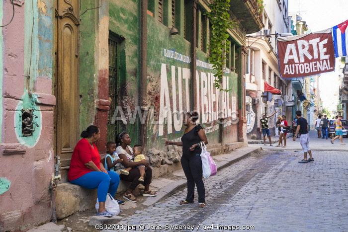Cuba, Havana, Habana Vieja - Old Havana,