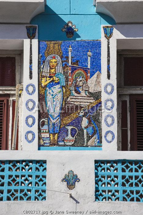 Cuba, Havana, Buildings on Paseo del Prado - The Prado