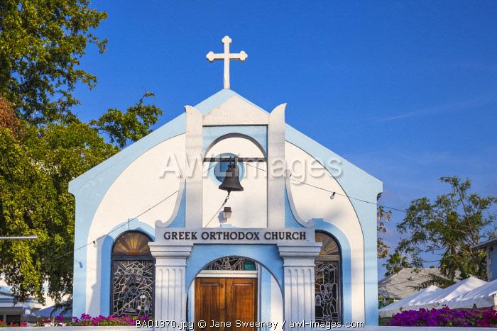 Caribbean, Bahamas, Providence Island, Nassau, Greek Orthodox Church
