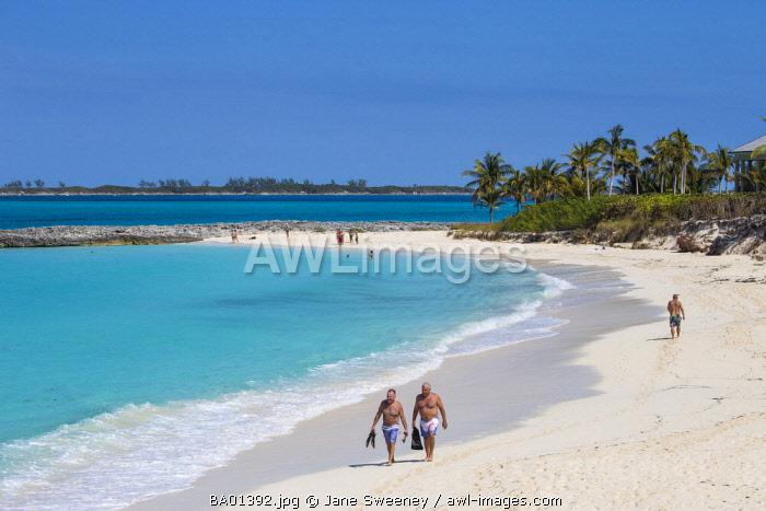Caribbean, Bahamas, Nassau, Paradise Island, Cabbage beach
