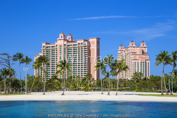 Caribbean, Bahamas, Nassau, Paradise Island, Atlantis resort