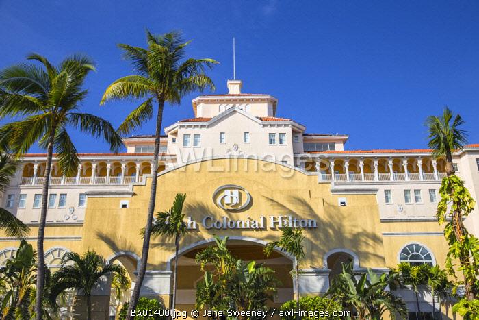 Caribbean, Bahamas, Providence Island, Nassau, British Colonial Hilton Hotel