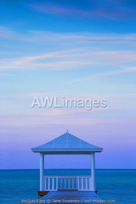 Caribbean, Bahamas, Providence Island, Jetty