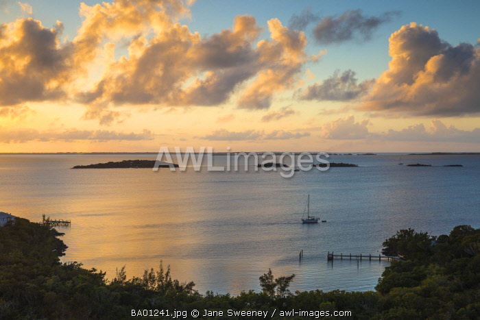 Bahamas, Abaco Islands, Elbow Cay, Hope Town, Harbour