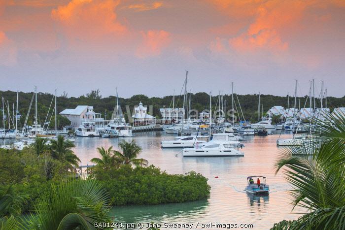 Bahamas, Abaco Islands, Elbow Cay, Hope Town, Hope Town Inn & Marina