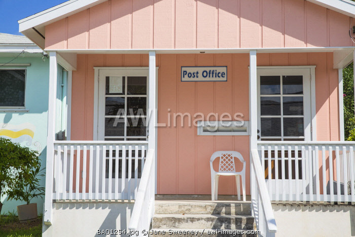 Bahamas, Abaco Islands, Mann of War Cay, Queen's highway, Post office