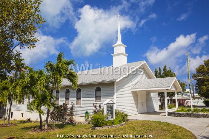 Bahamas, Abaco Islands, Man O War Cay, New Life Bible Church