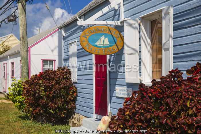 Bahamas, Abaco Islands, Man O War Cay, A ministry of New life bible church