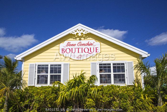 Bahamas, Abaco Islands, Great Guana Cay, Gone Conchin boutique