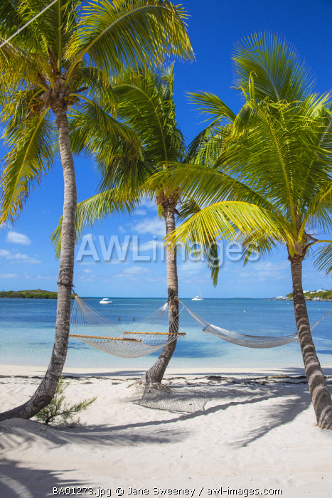 Bahamas, Abaco Islands, Great Guana Cay, Sunset beach
