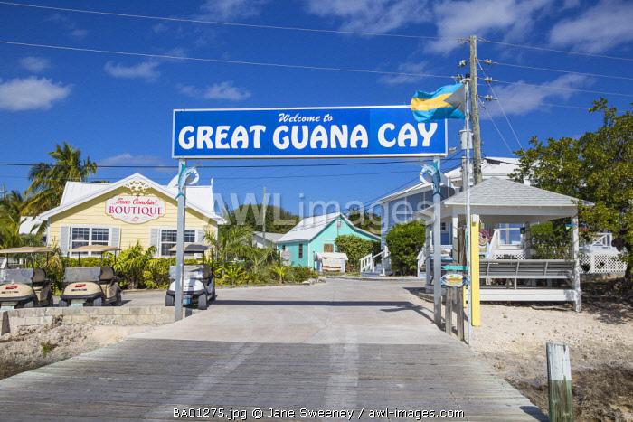 Bahamas, Abaco Islands, Great Guana Cay
