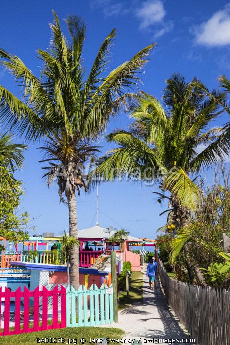 Bahamas, Abaco Islands, Great Guana Cay, Nippers Bar