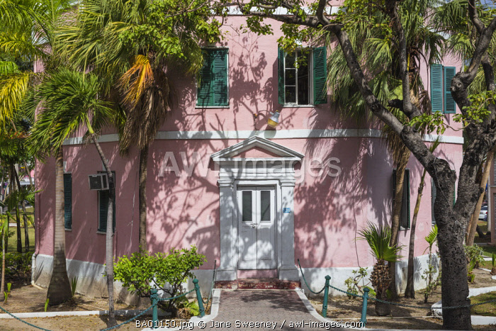 Caribbean, Bahamas, Providence Island, Nassau, Public libary