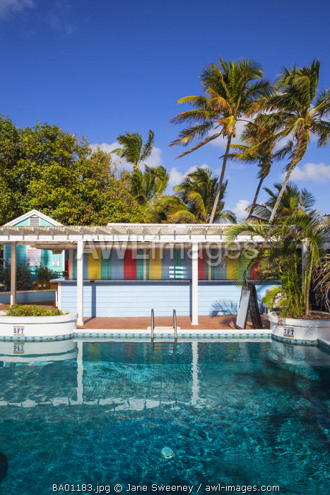 Bahamas, Abaco Islands, Elbow Cay, Hope Town, Hope Town Island Lodge Hotel