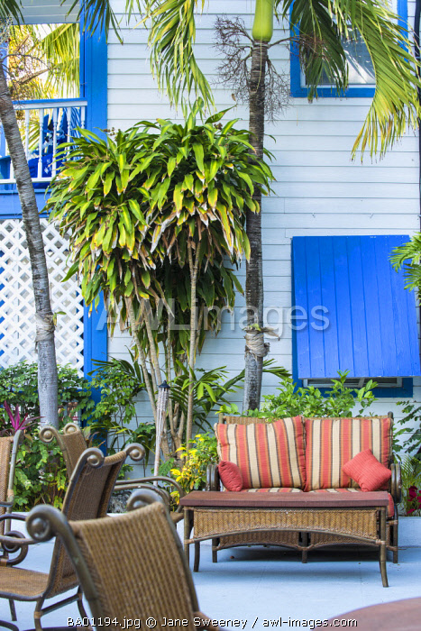 Bahamas, Abaco Islands, Elbow Cay, Hope Town, Hope Town Island Lodge Hotel