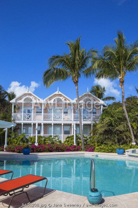 Bahamas, Abaco Islands, Elbow Cay, Hope Town, Hope Town Inn and Marina