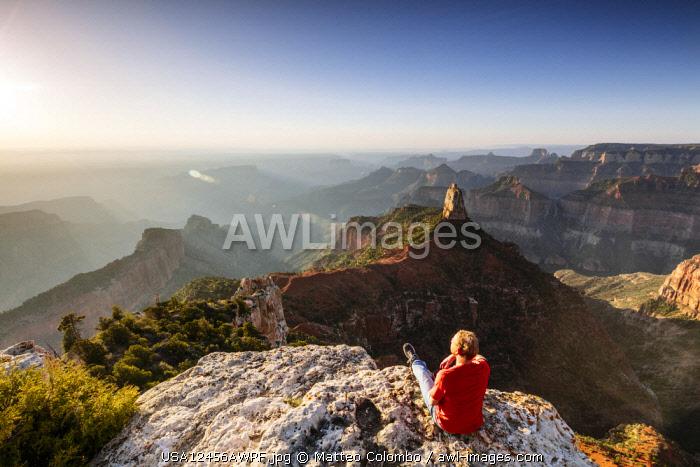 Point Imperial, North Rim, Grand Canyon National Park, Arizona, USA (MR)