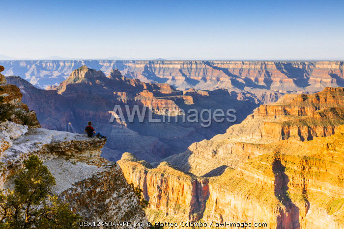 Bright Angel Point, North Rim, Grand Canyon National Park, Arizona, USA