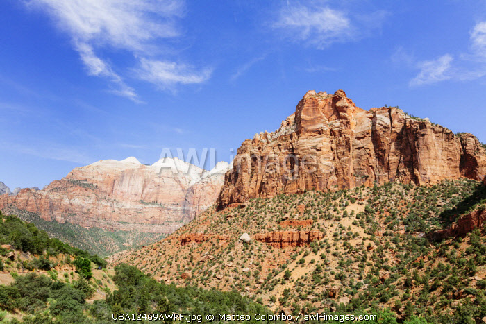 Zion Canyon National Park, Utah, USA