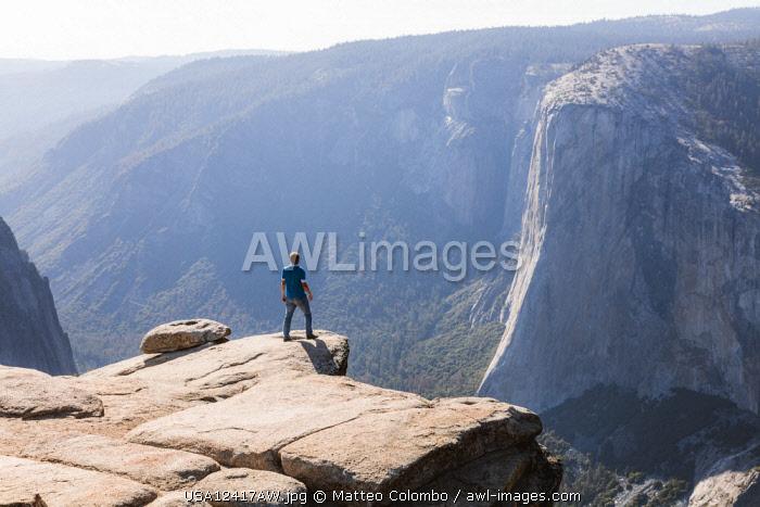 Taft point, Yosemite National Park, California, USA