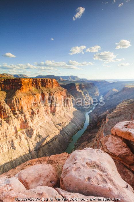 Toroweap overlook, North Rim, Grand Canyon National Park, Arizona, USA